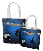 Various designed felt Halloween witch recyclable candy bag for kids