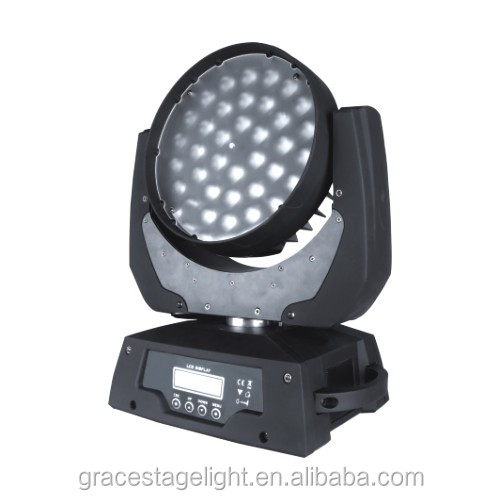 36x10w 4-in-1 wash mini led moving head music lighting shower