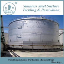 passivation of stainless steel tanks