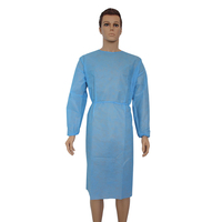 Long Sleeves Non Woven Disposable Patient Gowns