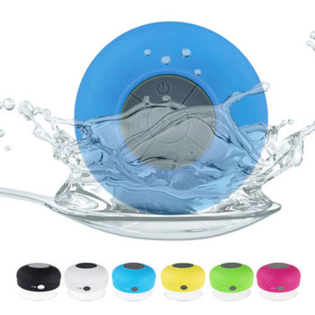 IPX4 Waterproof Shower Bluetooth 3.0 Waterproof Bluetooth Speaker with sucker