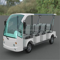 open top sightseeing bus(Electric 48V cart,11 seater sightseeing car)