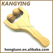 Wholesale Relaxing Roller Wooden Hand Massager For Home Use