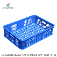 Solid plastic crate/plastic turnover crate /plastic basket for fruit and vegetable solid plastic crate fruit turnover crate