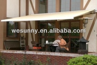 GR-580B1 outdoor retractable metal awning