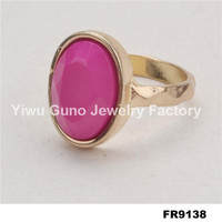fashion jewelry red coral stone rings, rings jewelry purple stone