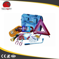 Professional good quality outdoor use 6pcs multi car emergency kits