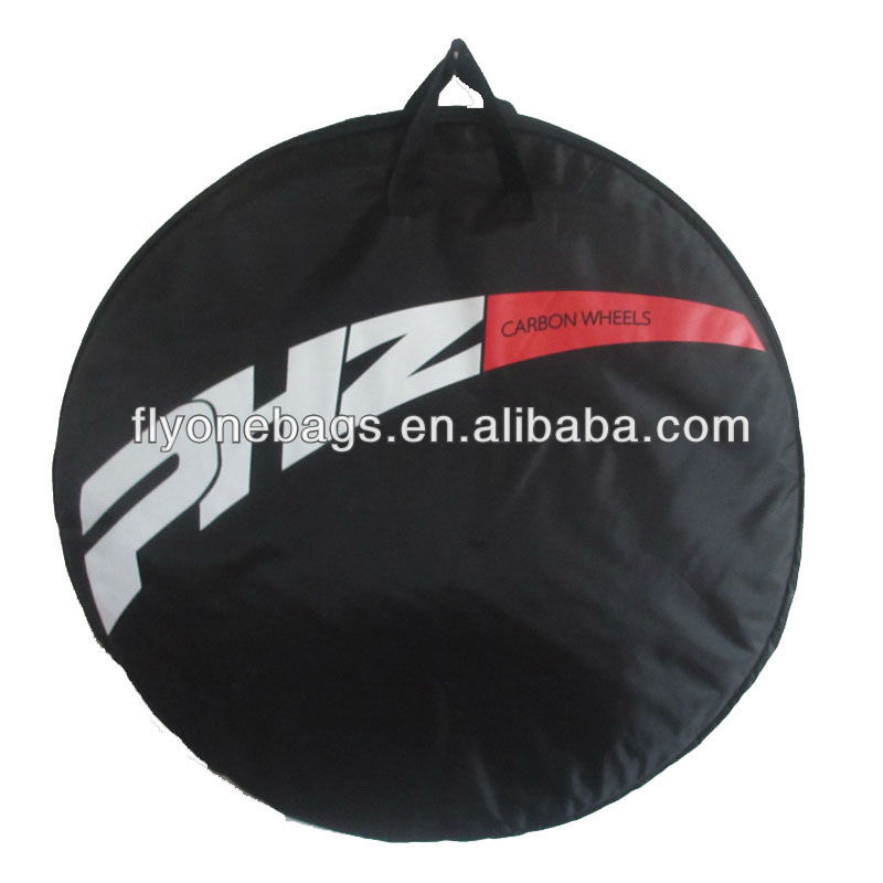 Mountain bicycle wheel bags