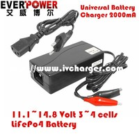 High efficiency Everpower EP-3PF3012 11v 2a super fast balance charger lifepo4