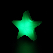Rechargeable Light LED Table Lamp Outdoor Christmas Lights Star For Home Decoration