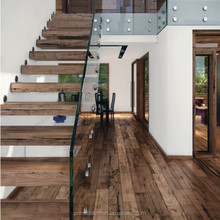 PRIMA floating stairs wood treads to decorate your houses