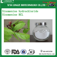 SinomeniumAcutumRehderettWilson Extract sinomenine 98% HPLC,(Sinomenone Hydrochloride Enteric-coated Tablets)