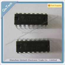 SN7445N SN7445 DIP-16,BCD-TO-DECIMAL DECODERS/DRIVERS