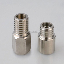 1/2 Inch brass extension fitting chrome plated pipe fitting