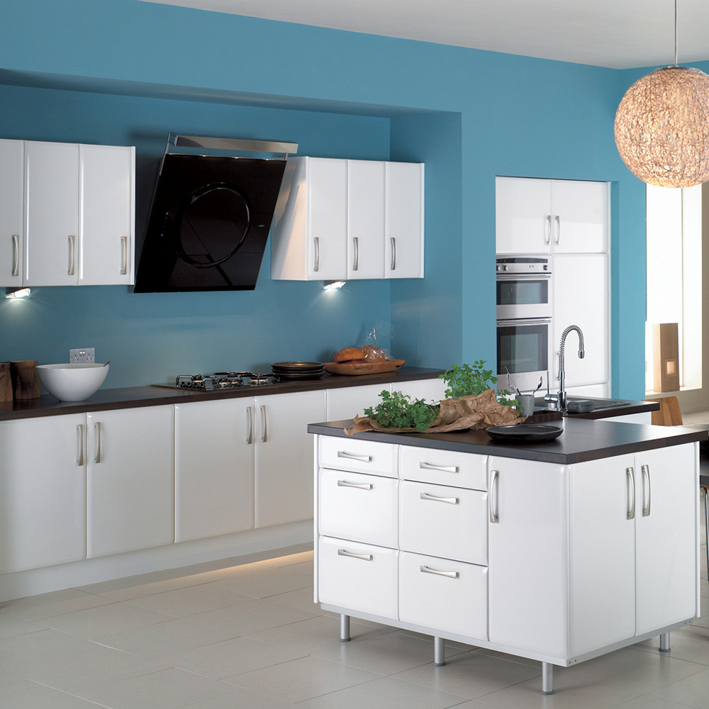 White Lacquered Kitchen Cabinet, White Lacquered Kitchen Cabinet ...