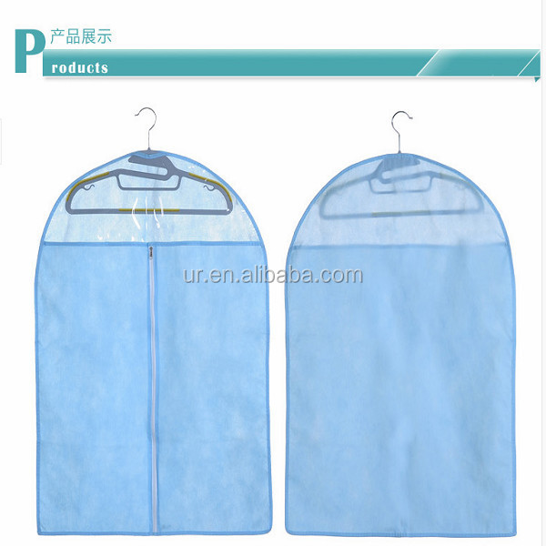 Export foldable traveling suit bag wholesale garment cover with custom design