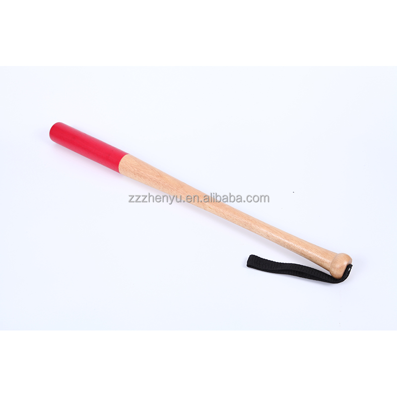 Rubber Wood Baseball Bat, strike stick