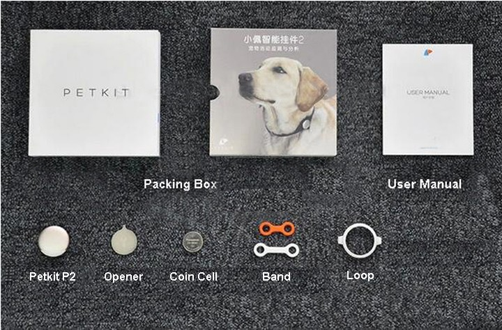 Plastic pet tags , intelligent dog tag