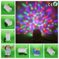 NEW design party decoration stage crystal magic 3W rgb led christmas lights