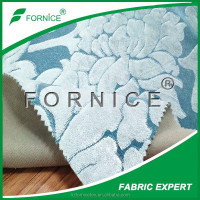 China supplier 100% polyester bright color auto upholstery fabric
