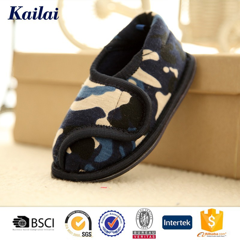 wholesale winter funny outdoor leather baby shoe