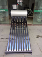 2015 China suppliers compact solar water heater price