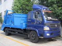 Ample supply and prompt delivery professional bin lift refuse collector trucks