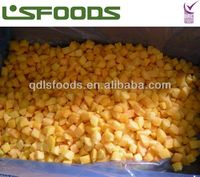 IQF yellow peach dices 15*15mm 2013 last batch
