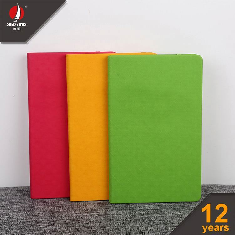 A5 spiral notebooks with dividing tabs PU colorful NOTEBOOK