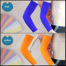2017 spandex nylon compression cooling arm sleeves cover UV sun protection