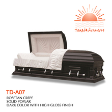 TD-A07 Christmas present American heritage panel casket price reduced on Black fri to Cyber mon
