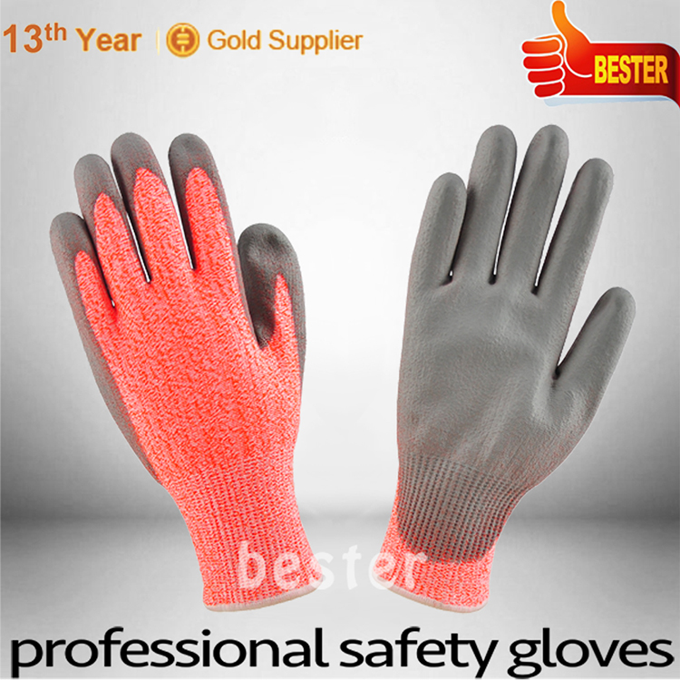 New Hot Fashion special discount pvc fully coated oil resistant gloves