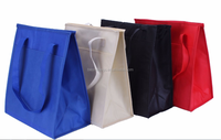 Large Insulated Non-Woven Polypropylene Reusable Totes logo printed promotional non woven polypropylene tote bag