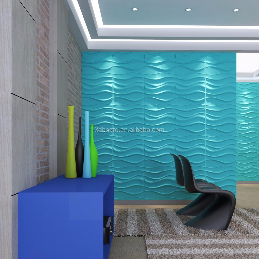 alibaba china market building material fireproof wall covering 3d wal panel
