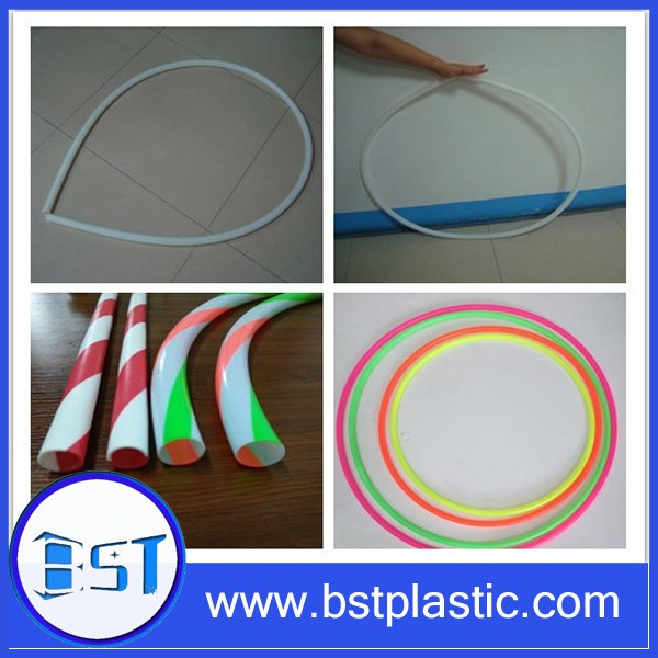 double color coextrusion HDPE tube for hula hoop tubing