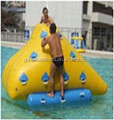 2015 small inflatable slide climbing ice berg A9033