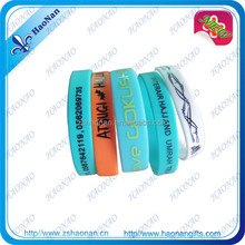 Handicraft gifts promotional cheap custom energy bracelet for events