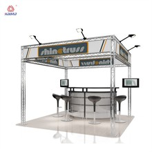 Aluminum trade show exhibit expo truss banner stand truss