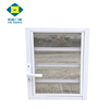 Aluminum Bathroom Shutters Glass Adjustable Louver Window