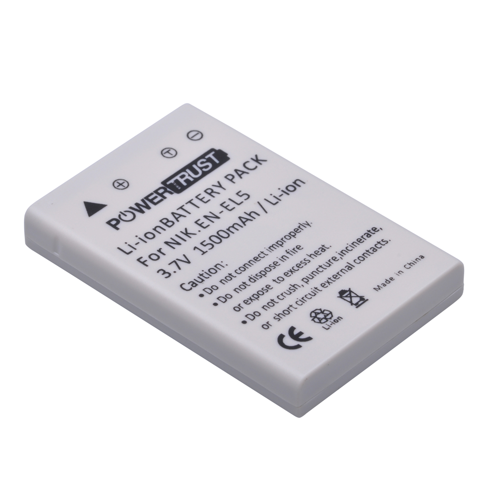 Full decoded li-ion <strong>battery</strong> EN-EL5 for Nikon Coolpix S10 P3 P4 P80 P90