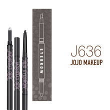 2 in 1 Waterproof private label automatic eyebrow pencil for women makeup