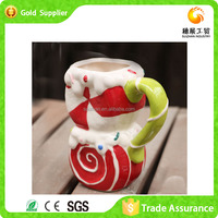 Wholesale Competetive Price Customized Resin Santa Heads