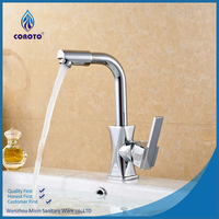 Cheap single handle brass taps kitchen faucets