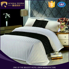 100% Cotton 3cm Stripe Hotel Bedding Set Bed Linen Wholesale Sheet Sets