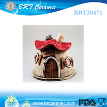 wholesale fragrance diffuser custom fairy house incense burner