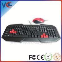 wired usb gaming mouse keyboard