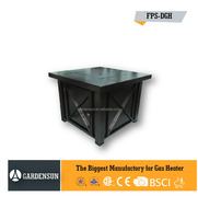 Gas outdoor fire pit table with hammered(outdoor gas fire pit) GARDENSUN 40000BTU with CE CSA AGA ISO