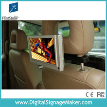 motion sensor 7inch lcd cab car taxi advertising screen
