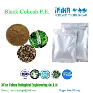 Certified Factory Supply Triterpene Glycosides Black Cohosh P.E.