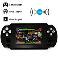 2016 NEW 3.5 Inch Handheld Console Game Support for PSP Games with Android System Wi-Fi Touch Screen For 1080P Output